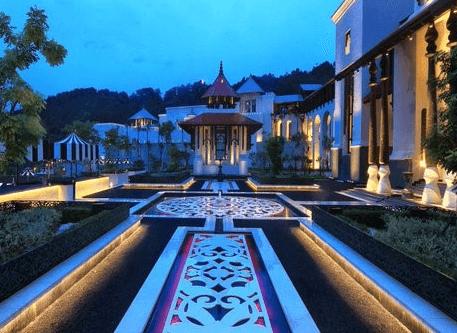 Istana Terengganu, Bukit Cendering